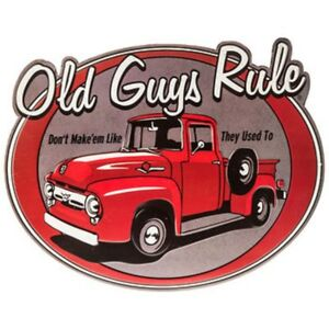 Old Guys Rule Don T Make Em Like They Used To Signs Man Cave Garage Decor 69