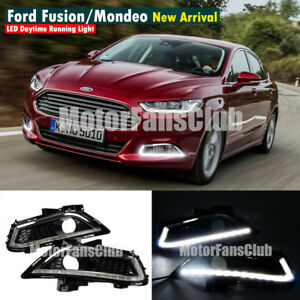 New Drl For 2013 Ford Fusion High Power 16 Led Daytime Running Light Fog Lamp