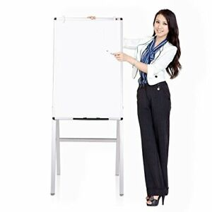 Dry Wipe Erase Board Magnetic Whiteboard High Stand Adjust Easel Office Marker