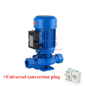 G1 1 4 220v 750w Hot Water Booster Centrifugal Pump Boiler Underfloor Heating