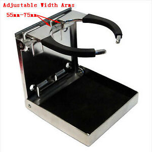 1pc 316 Stainless Folding Cup Drink Holder For Marine Boat Truck Rv Cheaper