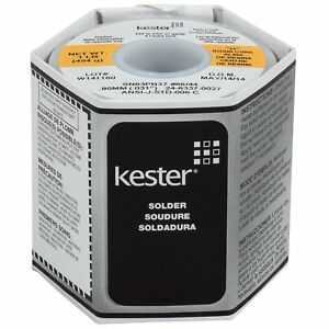 Kester 44 Rosin Core Solder 60 40 031 1 Lb Spool Electronic Electrcal Work New
