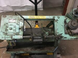 Wells Metal Cutting Band Saw Model 58b