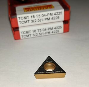 Sandvik Tcmt 32 51 pm Tcmt 16t304 pm 4225 Turning Carbide Inserts 10 Pcs
