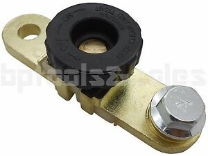 Battery Link Terminal Quick Cut off Disconnect Master Kill Shut Switch Side Post