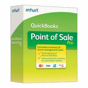 Intuit Quickbooks Point Of Sale Pro 2013 V11 4 user New Unregistered Download
