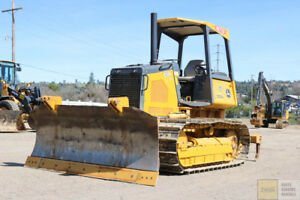 2011 Deere 550j Lt Dozer Low Hours Pat Blade Ms Ripper Orops Tier 3