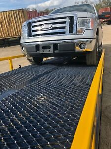 Yard Dock Trailer Forklift Loading Ramp 24 000 Lbs 85 Wide 82 5 Usable