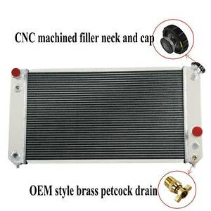 All Aluminum Radiator For 96 04 Chevy S10 Blazer Gmc Jimmy Sonoma Hombre 4 3l V6