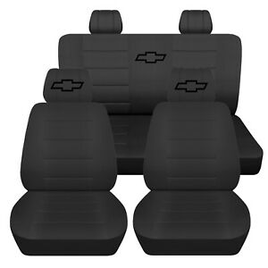 Truck Seat Covers 2008 Chevrolet Colorado 40 20 40 Front Seat 60 40 Rear Abf