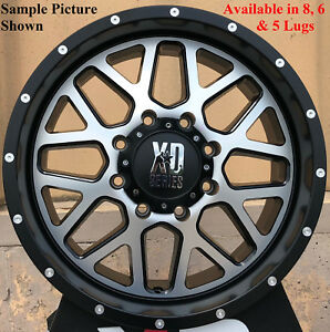 4 New 20 Wheels Rims For Chevrolet Silverado 2500 Hd 2011 2017 Lt Ltz Wt 1250