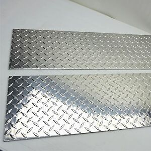 25 Aluminum Diamond Tread 3003 h24 Plate 10 Wide 32 Long Sku122846