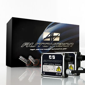 Autovizion 55w Xenon Lights Hid Kit For Honda Accord Cr v Cr z City Civic