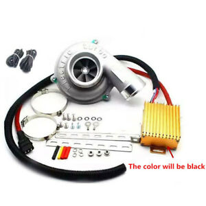 Lifting 10 30 Power Reduce Fuel Consumption Electric Turbocharger Kit Universal