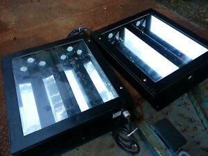 Detailing Auto paint Booth Light Fixtures 2ft F20 T8 T12 Led Glass Lens Sealed