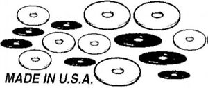 1939 40 Ford Fender Washer Set 60 Pieces