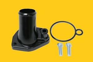Ford Black Water Neck Thermostat Housing 260 289 302 347 351w O Ring Sbf O Ring
