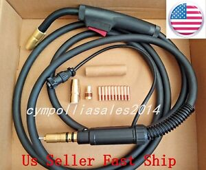 Us Seller Mig Welding Gun 10 150a Millermatic 35 90 140 180 190 211 Ironman 210