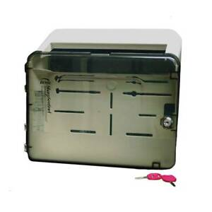 Impact 7368 Locking Wall Cabinet For 5 Qt Sharps Container