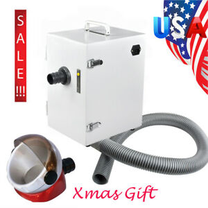 1000w Dental Digital Portable Dust Collector Vacuum Cleaner Device Lab Equipment