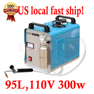 Oxy hydrogen Generator Acrylic Flame Polishing Machine Water Welder H180 95l