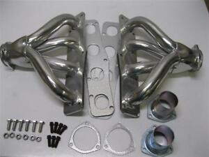 Mopar Chrysler Hemi 331 392 V8 Ceramic Coated Hugger Headers Exhaust Manifold