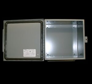 New Saginaw Sce 8086chnf Nema 4 Industrial Electrical Enclosure Box 8x8x6