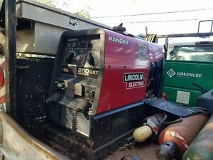 Lincoln Ranger 250 Gxt K2382 Ac dc This Machine Has Low Hours