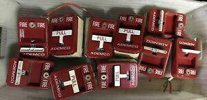 Ademco Fire Alarm Pull Station Lot