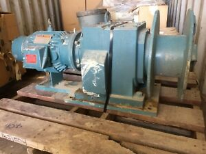 Iwm 3100aa Electric Tugger Winch 3 Hp Motor Drive 17 Inch Drum