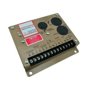 Electronic Engine Speed Governor Generator Controller Panel Esd5500e