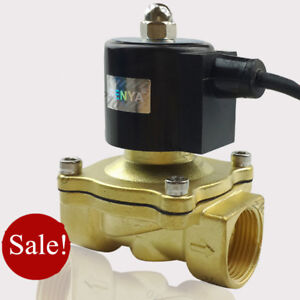 Dc24v G2 Brass Electric Solenoid Valve For Water Fountain Waterproof Ip65