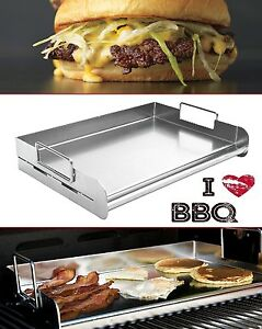 Flat Top Griddle 18 Restaurant Professional Stainless Steel Commercial Grill