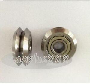 6pc Rm3zz 12 45 72 15 88mm V Groove Sealed Ball Vgroove Bearing