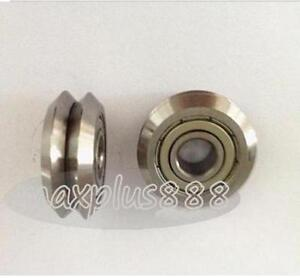 8pc Rm3zz 12 45 72 15 88mm V Groove Sealed Ball Vgroove Bearing