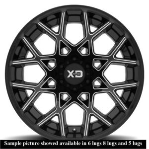 4 New 20 Wheels Rims For Gx 460 470 Lx 450 Axiom Rodeo Trooper I 280 290 802
