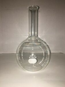 Pyrex 2000ml Flat Bottom Flask