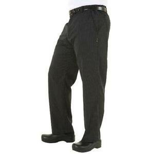Chef Works Professional Chef Pants Gray Black All Sizes