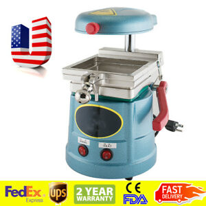 Dental Vacuum Forming Molding Machine Former Thermoforming Lab Equipment Unit Us