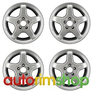 Mercedes Slk230 Slk320 2002 2004 17 Oem Amg Staggered Wheels Rims Set