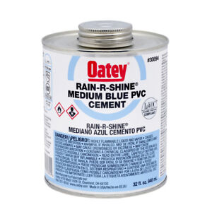 Oatey 32 fl Oz Pvc Cement 30894l Plumbing Tools Cements Pipe Cements Primers