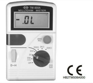 High Quality Milliohm Meter Low Resistance Meter Exprss Fast Ship