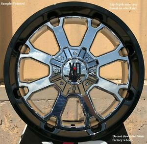 4 New 20 Wheels Rims For Avalanche Express Van 1500 Astro Van Colorado 819