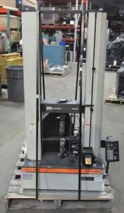 Instron 5500r 4201 Tensile Compression Testing Machine And Componants 2233wvs