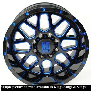 4 New 20 Wheels Rims For Acura Slx Hummer H3 Cadillac Escalade Kia Sedona 840