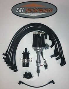 Small Cap Ford 5 0l 302 Efi To Carb Conv Hei Distributor Black 45k Coil Wires