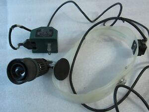 Vintage Welch Allyn Physicians Headlight W Power Adapter 49000