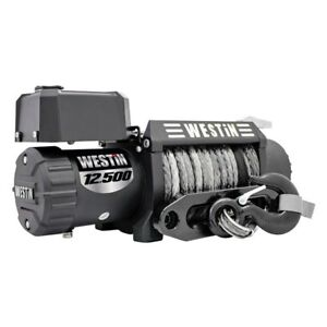 Westin 47 2109 12500 Lbs Off Road Series Winch W Synthetic Rope