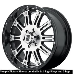 4 New 17 Wheels Rims For Avalanche Express Van 1500 Astro Van Colorado 858