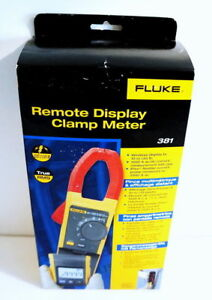 Fluke 381 True Rms Ac dc Remote Display Clamp Meter Multimeter W Iflex New